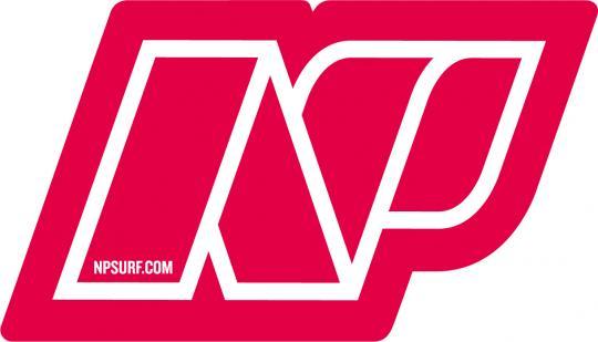 17 NP Brand Logo Sticker 30 cm